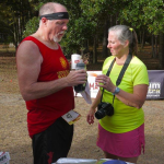 Mary Jo and Gregg at the Aid Station