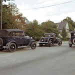 Old Cars on a Street